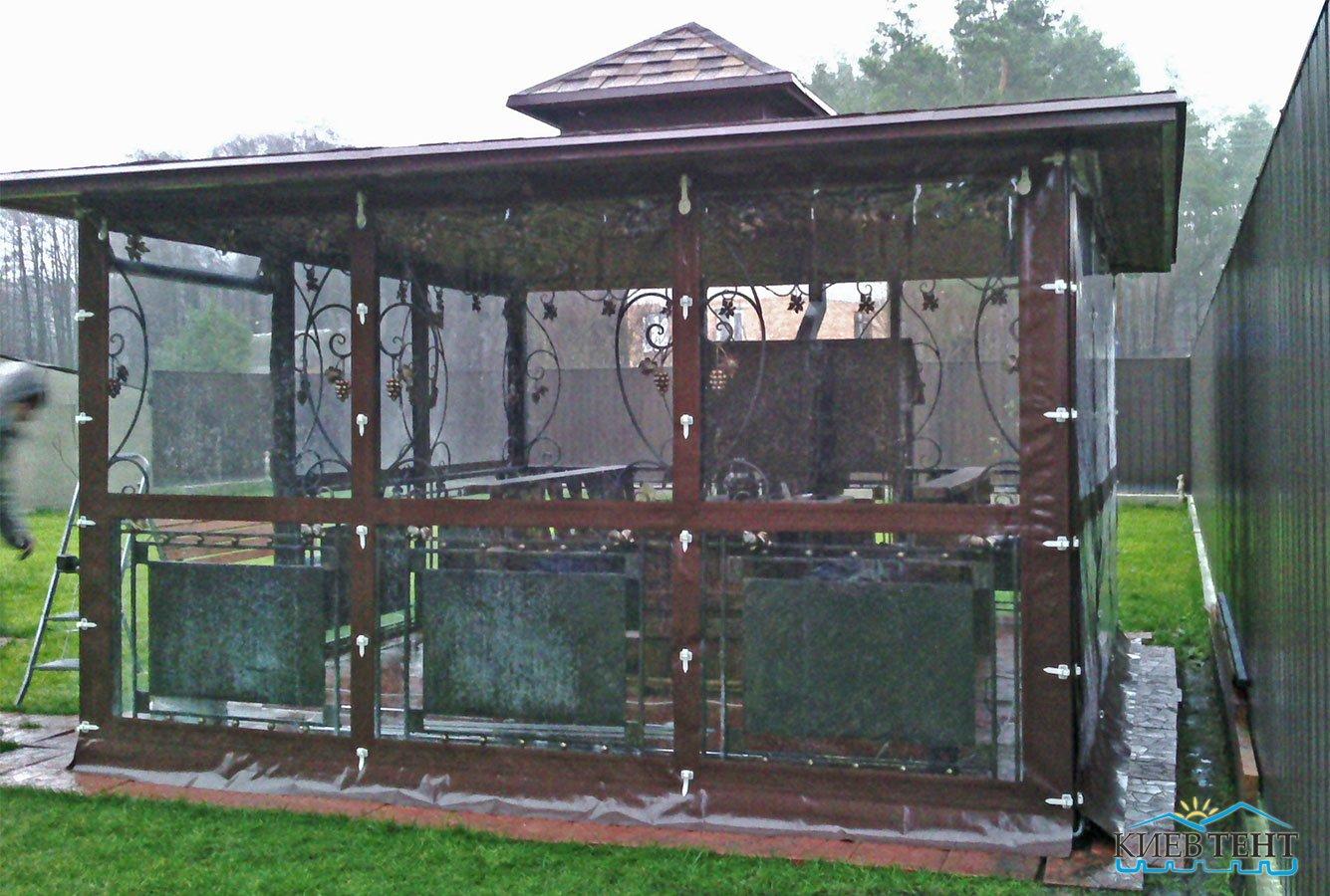 тентовые окна с флексом