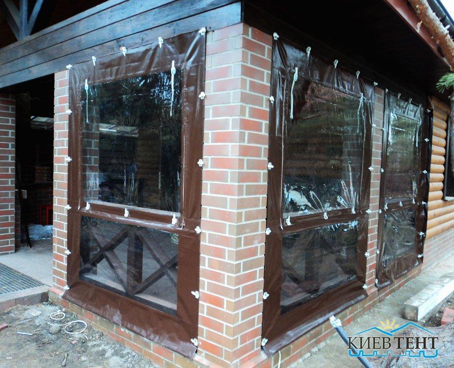 Тентовые окна  и стенки
