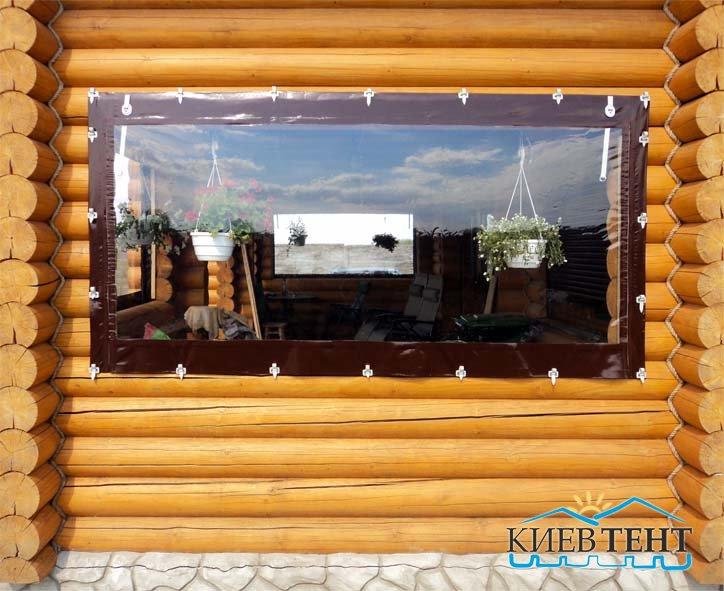 Окна из флекса и виниловой ткани