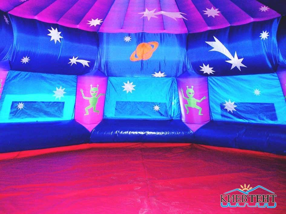 Надувная палатка Космо, вид внутри