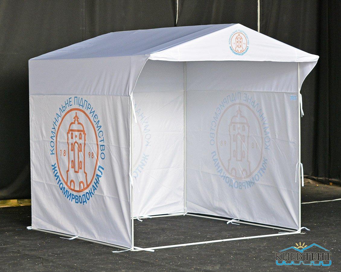 Палатка ЖитомирВодоканал, 2х2м