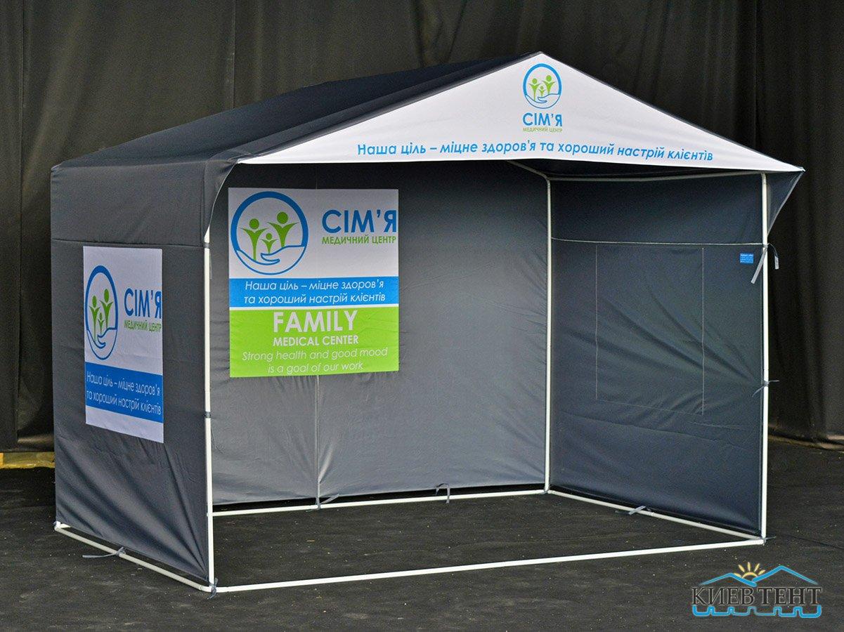 Палатка Медицинский центр Семья, 3х2