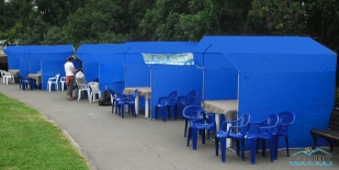 Прокат торговых палаток