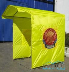 Палатки агитационные 1.5х1.5м; 2х2м; 3х2м