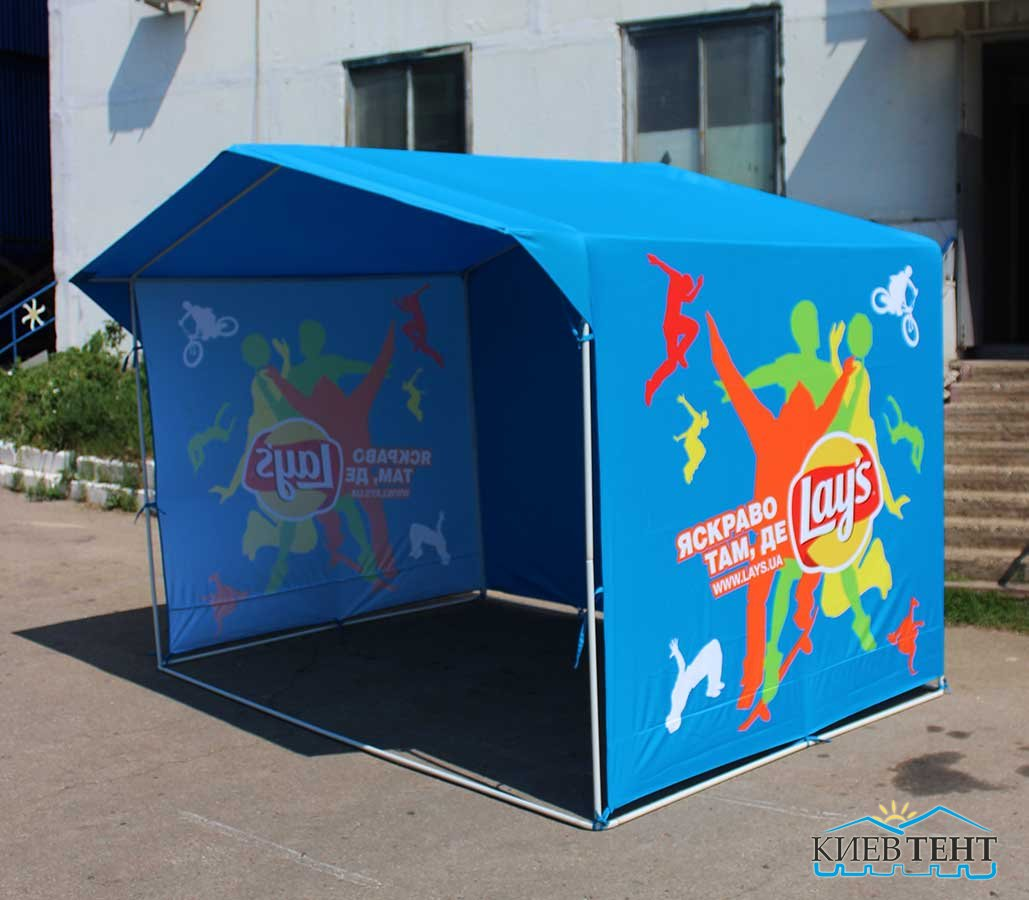 Торговая палатка, полноцветная печать