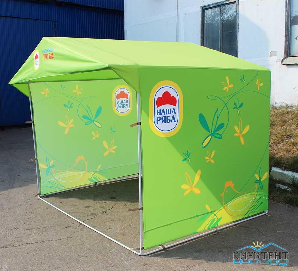 Торговая палатка 3м х 2м, полноцветная печать