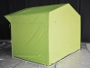 Зеленая палатка с молниями 2