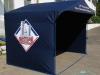 Рекламная палатка, вид сбоку