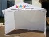 Торговая палатка 3м х 2м с печатью на фронтоне
